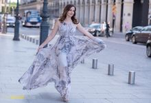 Wedding Photoshoot in Paris with various brides by davidcliftstudios