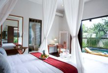 Two Bedroom Beach Front Villa by The Bali Khama