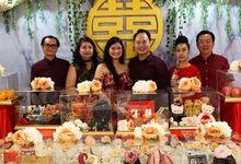 Peter & Rhenny's Engagement by Boosthampers Sangjit Seserahan Bali
