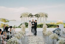 Phuket Beach Wedding of Lisa & William by Hipster Wedding