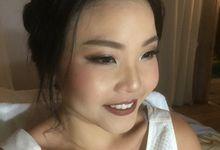 Makeup for Clo from Singapore by riris indah makeup