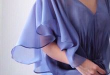 Blue Dress Photoshoot by Anve Sposa