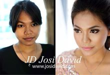 Instagram  by Josi David Professional & Wedding Make up Artist