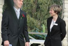 Topairies at Beaumont Wedding by Brisbane Wedding Celebrant Elizabeth Wilkie