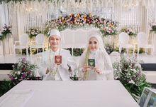 """akad nikah """"White Romance"""" @verynaekdp +@_rizalafandi by semutdecor"""