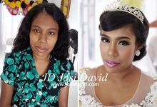 Make up hair for wedding by Josi David Professional & Wedding Make up Artist