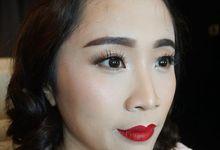 Party Graduation Bridesmaid Birthday Makeup and Hairdo by Sonya Janitra Makeup Artist