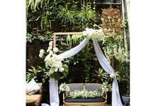 Intimate Wedding by Buttercup Decoration