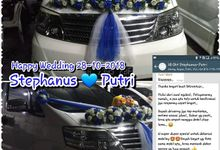 Testimoni Weddingcar September-oktober 2018 by BKRENTCAR