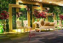 Christina dan Andhy Wedding by Tyas Decoration