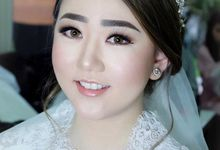 The Wedding of Priska & Partner by Felicaang Makeup Artist