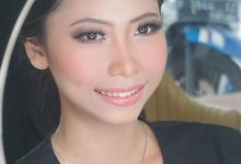 Bride Test Makeup for Ms. Theresia by MRS Makeup & Bridal