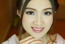 prewedding makeup for chelsia by Aurelia Giani Makeup