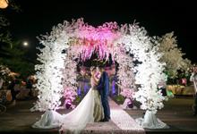 Wedding of Devi & Rheza Recepction by Arthaniaxpink