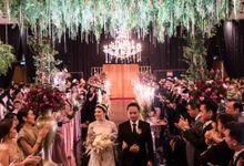 Ritz Kuningan - Erick & Michelle by Maestro Wedding Organizer