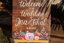 Ina and fikal wedding by Petunia Decor