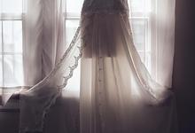 Custom Wedding Gown by Krys Marie Designs