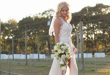 Custom Wedding Gown by Krys Marie Designs