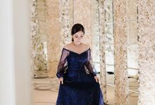 Sister of the Groom  by Famelia Lim Couture