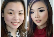 Makeup Trial for Helen by Kezia Francesca