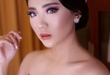 Wedding makeup for Ms. Sella  by Suzuko Muto Makeup Artist