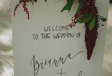 Brianna & Daniel Wedding by Bali Happy Wedding