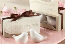 salt and paper by Alleriea Wedding Gifts