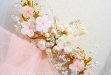 Cherry Blossom Hairpiece by Belle La_vie