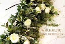 FLOWER INSTALLATION for Interior Projects by Yulika Florist & Decor