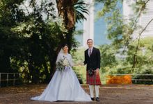 Scottish Wedding at Lewin Terrace by Hong Ray Photography