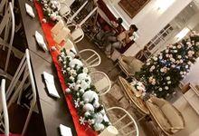 Christmas decor party by Petunia Decor