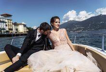 Wedding on Como by Ruslana Regi makeup artist in Italy