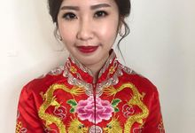 Chinese traditional makeup and hairstyle  by MOD 21