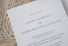 Edwin & Stephanie by The Fine Press