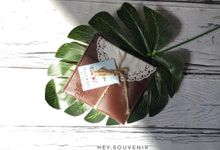 Card holder for Talia & Michael by Hey.souvenir