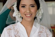 The day of Anyeliria Sutanto by Geraldine Makeup Artist