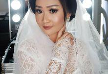 Makeup bride for Ms.Mega by Vivi Esther Makeup Artistry