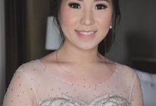 The day of Jessica and Lee by Geraldine Makeup Artist