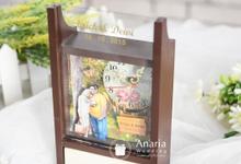 Erick & Dewi Wedding Favors by Anaria Souvenir Pernikahan