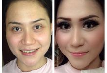 Before & After by Marsia Yulia Signature. Natural and Korean Make Up Specialist.