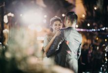 DAVID & FELICIA WEDDING by DHIKA by MA Fotografia