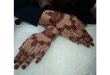 Fast henna Wedding's Aini by Hennabyherlina