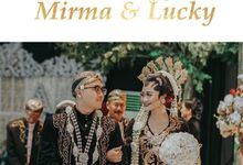 The Wedding of Mirma & Lucky by Kisah Kita Wedding Planner & Organizer
