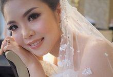 Erwin & Jessica Wedding  by Winnie Neuman Make up Artist