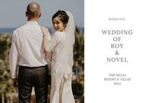 Wedding of Roy & Novel by BigDayCo.