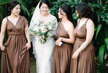 WEDDING DRESS AUBAGNE by GAËTA Bridal Couture