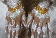 White Henna by Ikkie henna art