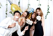 Delwin & Seraphina Wedding Photo Booth by Live Booth Co.