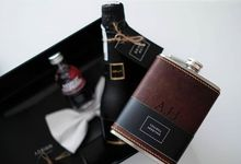 Groomsmen Gift by Flask Indonesia