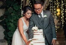 The Wedding Cake Of Dina & Denny by Moia Cake